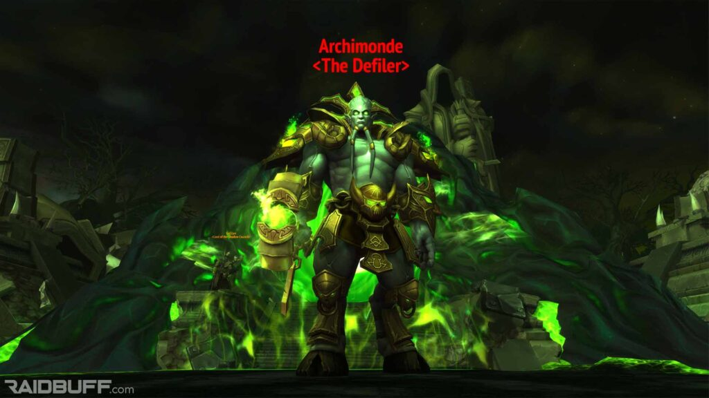 Archimonde, the final boss of Hellfire Citadel in Warlords of Draenor