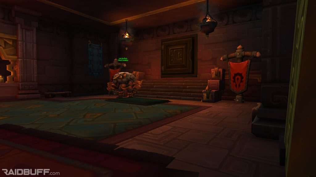 An image of one of the two guild bank vaults in Dazar'alor