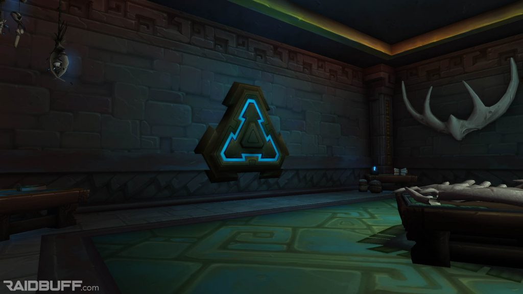 An image of one of two guild bank vaults in Dazar'alor