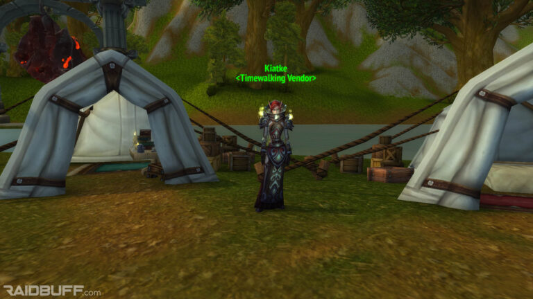 Where is the Cataclysm Timewalking Vendor?