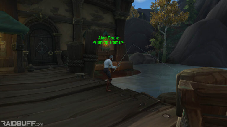 Where Is The Fishing Trainer In Boralus?