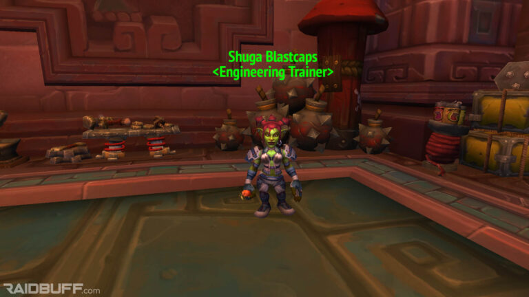 Where is the Engineering Trainer in Dazar'alor?