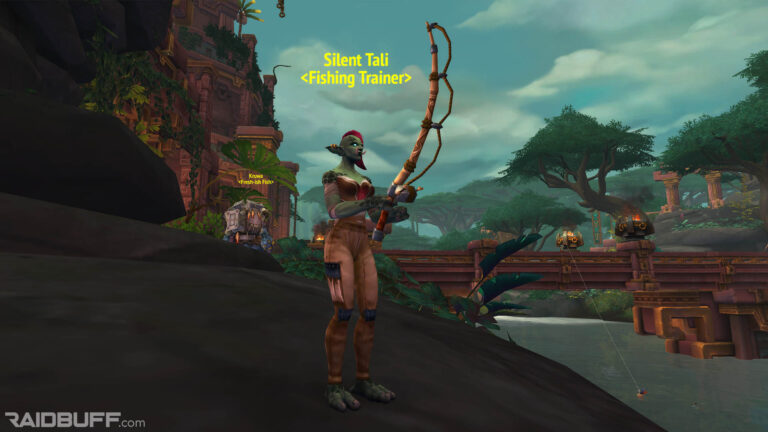 Where Is The Fishing Trainer In Dazar'alor?