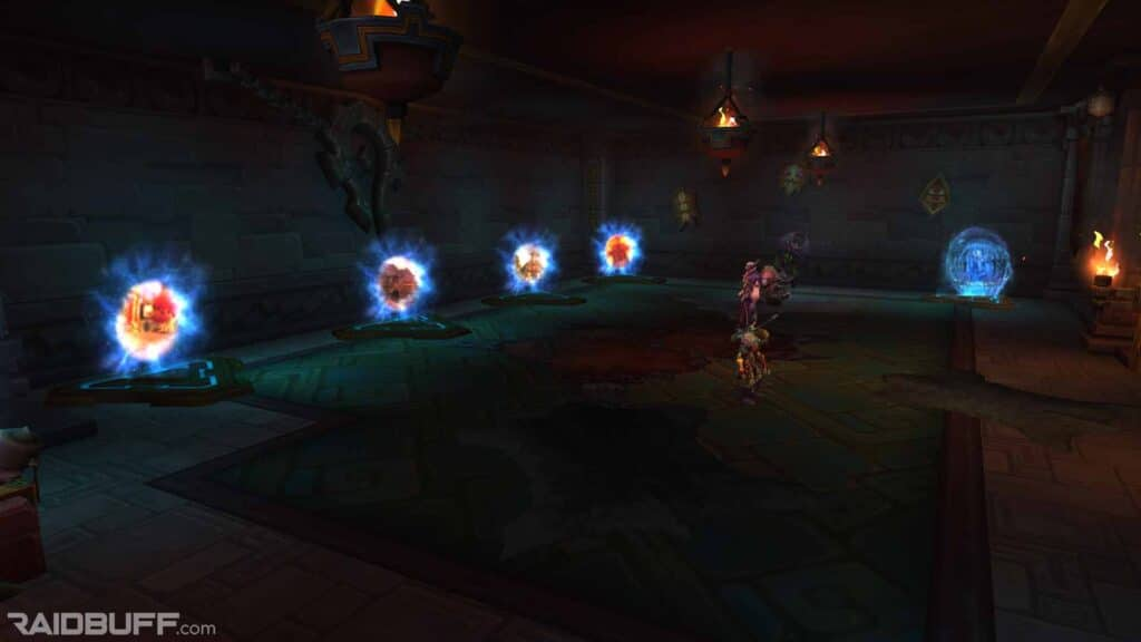 The Portals in the Dazar'alor Portal Room, the Hall of Ancient Paths, in the Great Seal