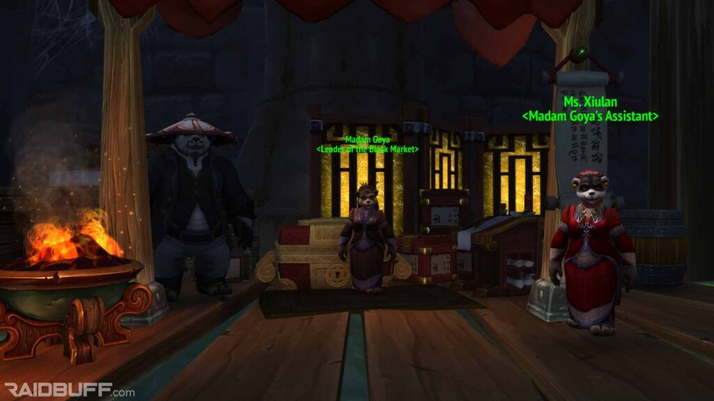 Black Market Auction House in the Dalaran Underbelly